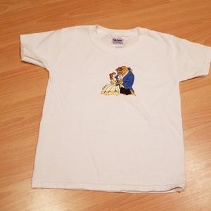 Disney Beauty and the Beast 3t tshirt